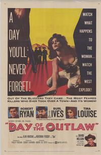 Day of the Outlaw - 43 x 62 Movie Poster - Bus Shelter Style A