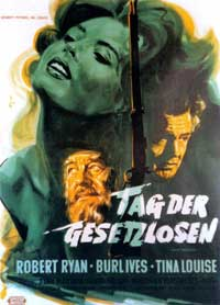 Day of the Outlaw - 27 x 40 Movie Poster - German Style A