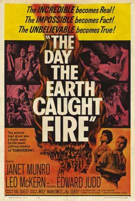The Day the Earth Caught Fire - 27 x 40 Movie Poster - Style A