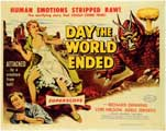 Day the World Ended - 11 x 17 Movie Poster - Style B