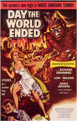 Day the World Ended - 11 x 17 Movie Poster - Style A