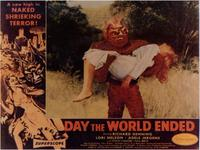 Day the World Ended - 11 x 14 Movie Poster - Style A