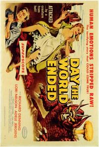Day the World Ended - 22 x 28 Movie Poster - Half Sheet Style A