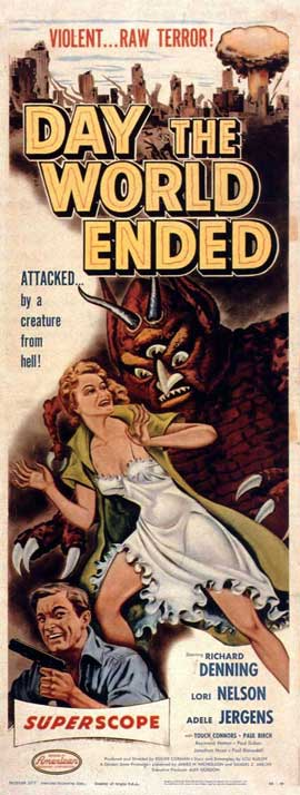 Day the World Ended - 14 x 36 Movie Poster - Insert Style A