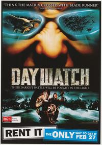 Day Watch - 43 x 62 Movie Poster - Bus Shelter Style C