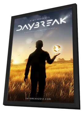 Daybreak - 11 x 17 TV Poster - Style A - in Deluxe Wood Frame