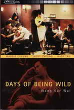 Days of Being Wild - 27 x 40 Movie Poster - German Style A