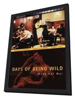 Days of Being Wild - 27 x 40 Movie Poster - German Style A - in Deluxe Wood Frame