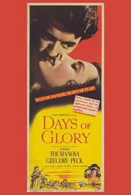 Days of Glory - 27 x 40 Movie Poster - Style A