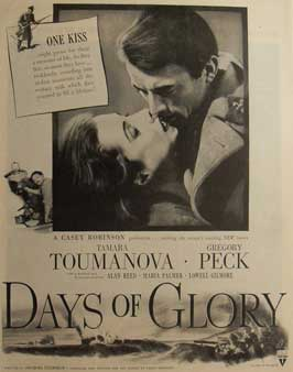 Days of Glory - 11 x 17 Movie Poster - Style C