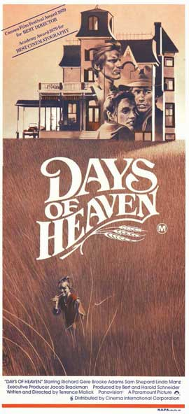 Days of Heaven - 11 x 17 Movie Poster - Style B