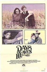 Days of Heaven - 43 x 62 Movie Poster - Bus Shelter Style A