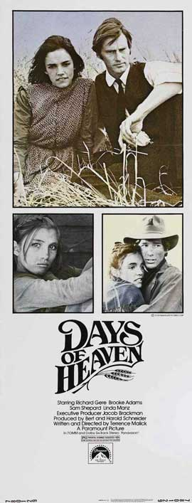 Days of Heaven - 14 x 36 Movie Poster - Insert Style A