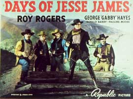 Days of Jesse James - 11 x 14 Movie Poster - Style A
