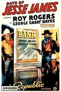 Days of Jesse James - 43 x 62 Movie Poster - Bus Shelter Style A