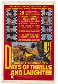 Days of Thrills and Laughter - 11 x 17 Movie Poster - Style A
