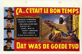 Days of Thrills and Laughter - 11 x 17 Movie Poster - Belgian Style A