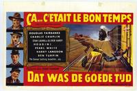Days of Thrills and Laughter - 27 x 40 Movie Poster - Belgian Style A