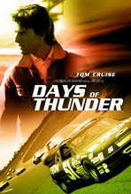 Days of Thunder - 27 x 40 Movie Poster - Style D