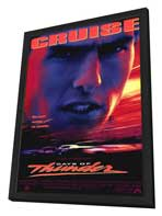 Days of Thunder - 11 x 17 Movie Poster - Style A - in Deluxe Wood Frame
