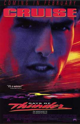 Days of Thunder - 11 x 17 Movie Poster - Style C