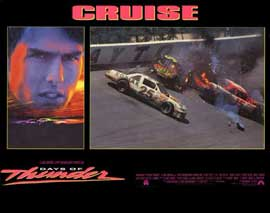 Days of Thunder - 11 x 14 Movie Poster - Style G