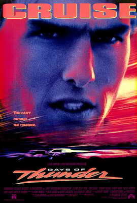 Days of Thunder - 27 x 40 Movie Poster - Style A