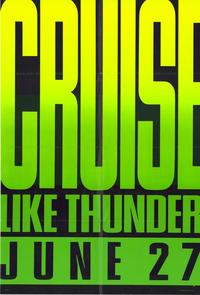 Days of Thunder - 43 x 62 Movie Poster - Bus Shelter Style B