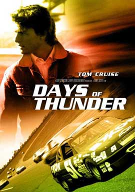 Days of Thunder - 11 x 17 Movie Poster - Style E