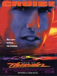 Days of Thunder - 43 x 62 Movie Poster - Bus Shelter Style C