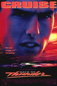 Days of Thunder - 11 x 17 Movie Poster - Style A - Museum Wrapped Canvas