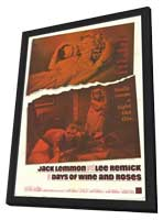 Days of Wine and Roses - 11 x 17 Movie Poster - Style A - in Deluxe Wood Frame