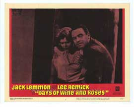 Days of Wine and Roses - 11 x 14 Movie Poster - Style B