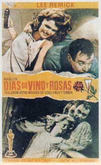 Days of Wine and Roses - 11 x 17 Movie Poster - Spanish Style B