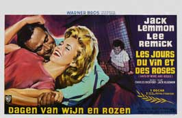 Days of Wine and Roses - 27 x 40 Movie Poster - Belgian Style A