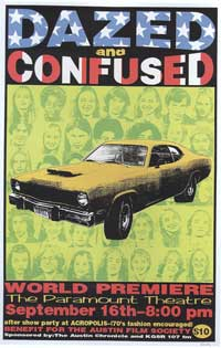 Dazed and Confused - 27 x 40 Movie Poster - Style E