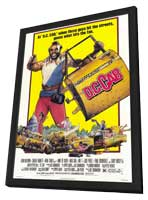 D.C. Cab - 11 x 17 Movie Poster - Style A - in Deluxe Wood Frame