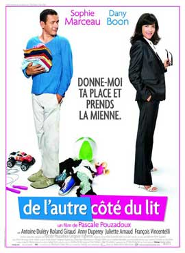 De l'autre cote du lit - 11 x 17 Movie Poster - French Style A