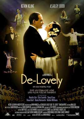 De-Lovely - 11 x 17 Movie Poster - German Style A