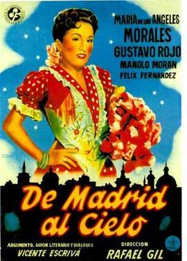 De Madrid al cielo - 11 x 17 Movie Poster - Spanish Style A