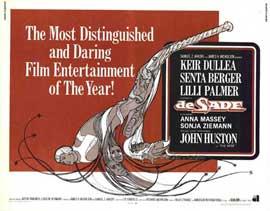 De Sade - 11 x 14 Movie Poster - Style A