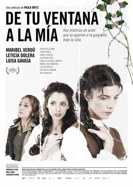 De tu ventana a la mia - 11 x 17 Movie Poster - Spanish Style A