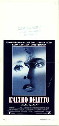 Dead Again - 13 x 28 Movie Poster - Italian Style A