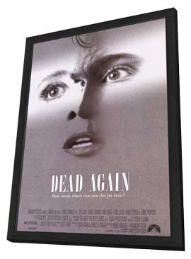 Dead Again - 11 x 17 Movie Poster - Style A - in Deluxe Wood Frame
