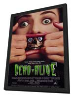 Dead Alive - 11 x 17 Movie Poster - Style A - in Deluxe Wood Frame