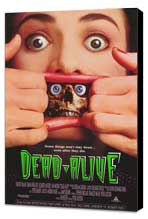 Dead Alive - 27 x 40 Movie Poster - Style A - Museum Wrapped Canvas