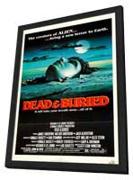 Dead and Buried - 11 x 17 Movie Poster - Style A - in Deluxe Wood Frame