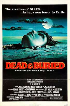 Dead and Buried - 11 x 17 Movie Poster - Style A