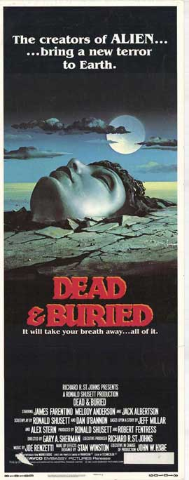 Dead and Buried - 14 x 36 Movie Poster - Insert Style A