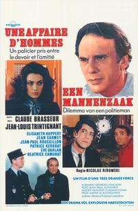 Dead Certain - 27 x 40 Movie Poster - Belgian Style A